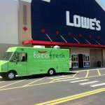 Taco Fresh Truck at a Corporate Event at Lowe's
