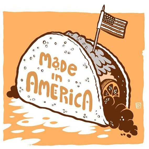 Happy 4th of July! america independenceday tacos