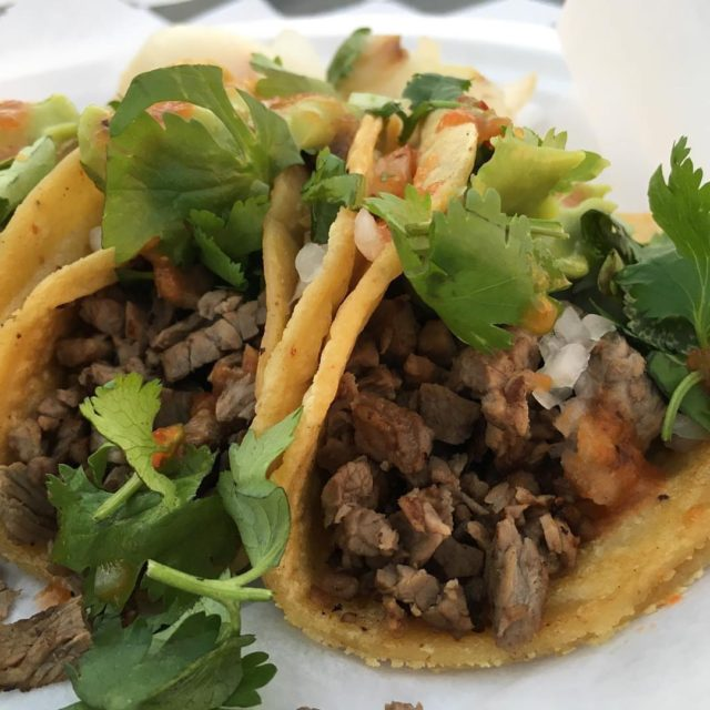 Repost from burgerbeast Get yer Street Taco fix from TacoFreshhellip